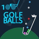 100 Golf Topları