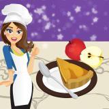 Fransız elmalı turta - Emma ile yemek