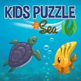 Çocuklar Puzzle Sea