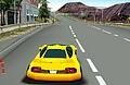 Sarı Ferrari Araba Oyunu
